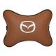 Подушка на подголовник экокожа Fox MAZDA