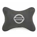 Подушка на подголовник алькантара D.Grey NISSAN