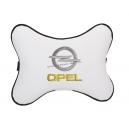 Подушка на подголовник экокожа Milk OPEL
