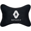 Подушка на подголовник алькантара Black (белая) RENAULT