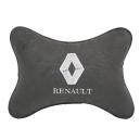Подушка на подголовник алькантара D.Grey RENAULT