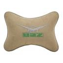 Подушка на подголовник алькантара Beige UAZ
