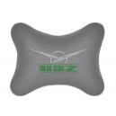 Подушка на подголовник экокожа L.Grey UAZ