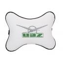 Подушка на подголовник экокожа Milk UAZ