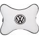 Подушка на подголовник экокожа Milk (черная) VW
