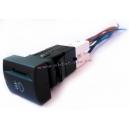 Выключатель противотуманных фар 12В (995.3710-07.06) в сборе с соединительной колодкой