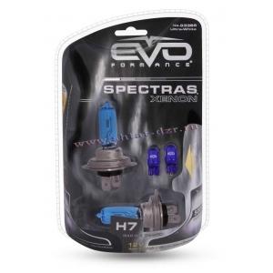"""Газонаполненные лампы EVO """"Spectras""""/5000К/W75/Н7 комплект 2+2(T-10) шт"""