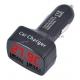 Индикатор напряжения + Термометр + 2 USB + Амперметр (4 в 1)