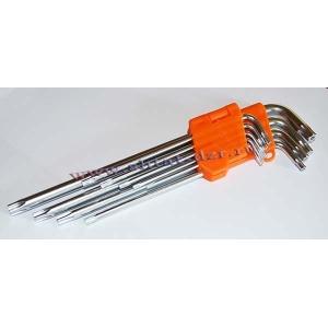 Набор ключей L-образн. TORX  (9 предм. Т10-Т50)