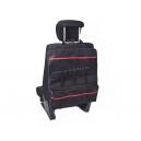 Органайзер на спинку сиденья в багажник, с красной отстрочкой, размер 550*500мм
