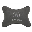 Подушка на подголовник алькантара D.Grey ACURA