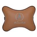 Подушка на подголовник экокожа Fox ACURA