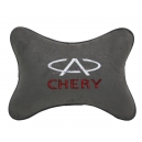 Подушка на подголовник алькантара D.Grey CHERY