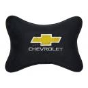 Подушка на подголовник алькантара Black CHEVROLET