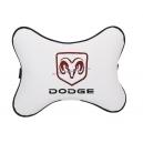 Подушка на подголовник экокожа Milk DODGE