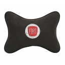 Подушка на подголовник алькантара Coffee FIAT
