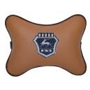 Подушка на подголовник экокожа Fox GAZ