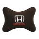 Подушка на подголовник алькантара Coffee HONDA
