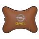 Подушка на подголовник экокожа Fox OPEL