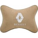 Подушка на подголовник алькантара Beige (белая) RENAULT