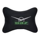 Подушка на подголовник алькантара Black UAZ