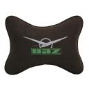 Подушка на подголовник алькантара Coffee UAZ