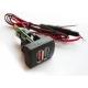 Автомобильное зарядное устройство USB 2 Port  - Приора,Гранта,Калина-2