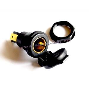 DIN-гнездо для штекеров d 12mm А13-144B 12V 16A