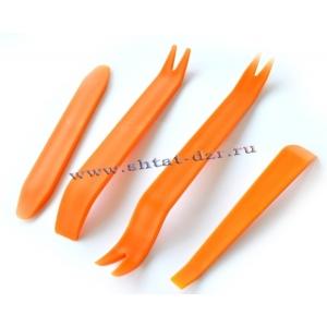 Набор инструментов для снятия обшивки, разборки салона (4 шт.)