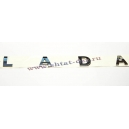 """Орнамент крышки багажника Лада Веста / XRAY """"LADA"""""""