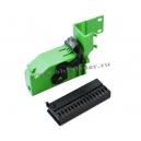 Разъём VDO (корпус с защелкой) АМР 1-929409-1 + Вставка для клемм АМР 1-929408-1
