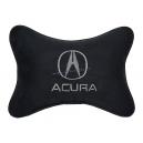 Подушка на подголовник алькантара Black ACURA