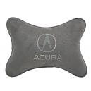 Подушка на подголовник алькантара L.Grey ACURA
