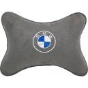 Подушка на подголовник алькантара L.Grey BMW