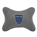 Подушка на подголовник алькантара L.Grey DACIA