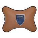 Подушка на подголовник экокожа Fox DACIA