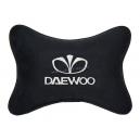 Подушка на подголовник алькантара Black DAEWOO