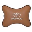 Подушка на подголовник экокожа Fox DAEWOO