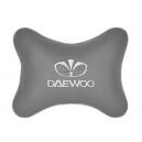 Подушка на подголовник экокожа L.Grey DAEWOO
