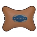 Подушка на подголовник экокожа Fox DATSUN