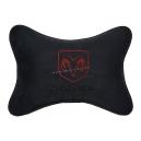 Подушка на подголовник алькантара Black DODGE