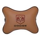 Подушка на подголовник экокожа Fox DODGE