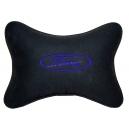 Подушка на подголовник алькантара Black (синяя) FORD