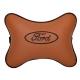 Подушка на подголовник экокожа Fox (коричневая) FORD